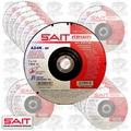 "Sait 20081 25pk 7"" x 7/8"" x 1/4"" Metal Cutting Grind Wheel"