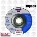 "Sait 22072 4-1/2"" x 7/8"" x .045"" Depressed Metal Cutting Wheel"