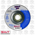 "Sait 22072 4-1/2"" x 7/8"" x .045"" Thin Depressed Metal Cutting Wheel"