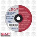 "Sait 23050 3"" x 3/8"" x .035"" Thin Metal Cutting Wheel"