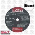 "Sait 23061 50pk 4"" x 5/8"" x 1/16"" Metal Cutting Wheel"