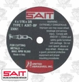 Sait 23061 Metal Cutting Wheel