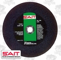 "Sait 23463 14"" x 1"" x 1/8"" MAC Cut-Off Wheel"