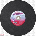 "Sait 24500 14"" x 1"" x 3/32"" EZ-Chop Attacker Metal Cutting Wheel"