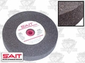 "Sait 28022 8"" x 3/4"" 80 Grit Bench Grinder Wheel"