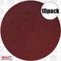 "Sait 35096 10pk 6"" Abrasive Sanding Disc Adhesive Backed (peel and stick)"
