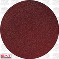 "Sait 35098 60 Grit 6"" Abrasive Sanding Disc Adhesive Backed (peel and stick)"
