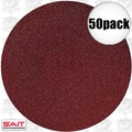 "Sait 35099 50pk 6"" Abrasive Sanding Disc Adhesive Backed (peel and stick)"