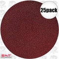 "Sait 35167 25pk 12"" Abrasive Sanding Disc Adhesive Backed (peel and stick)"