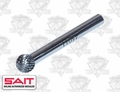 "Sait 45011 3/8"" x 5/16"" SD-3 Carbide Burr Rotary Cutter"
