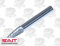 "Sait 45020 1/4"" x 5/8"" SF-1 Carbide Burr Rotary Cutter"