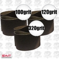 "Sait 57507 3pk 3"" x 24"" Sanding Belt Kit"