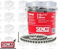 "Senco 06A125P #6 x 1-1/4"" Phillips Head Drywall Screws"