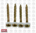 "Senco 08F175Y 1000pk #8 x 1-3/4"" Wood Screw"
