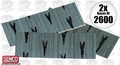 "Senco A100509 2x 2600 Box 1/2"" 23 Gauge Galvanized Micro Pin Nails"