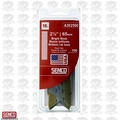 Senco A302500 700pk Bright Basic Angled Finish Nails 15 Ga. x 2-1/2""