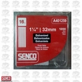 "Senco A401259 1200pk 1-1/4"" x 16 Gauge Finish Nails"