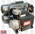 Senco PC1131 4.3 Gallon Oil-Splash Twinstack Air Compressor