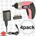 Skil 2354-08 4pk 4V Max Lithium-Ion Palm-Sized Cordless Screwdriver