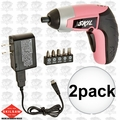 Skil 2354-8-RT 2pk 4V Max Lithium-Ion Palm-Sized Cordless Screwdriver