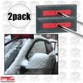 SnoBrum PRO 2pk Commercial Grade Snow Broom