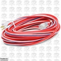 Southwire Electrical 2549SWUSA1 100' 12/3 Red White + Blue Outdoor Ext Cord