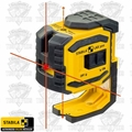 Stabila 03180 LAX300 ProLiner Cross Line Laser Plus Plumb Points