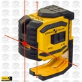 Stabila 03180 ProLiner Cross Line Laser Plus Plumb Points Open Box