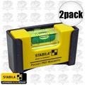 Stabila 11995 2pk Pocket Pro Magnetic Level
