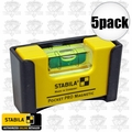 Stabila 11995 5pk Pocket Pro Magnetic Level