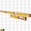 "Stabila 37816 2pk 16"" & 48"" Type 196 Series Box Level Combo Set Open Box"