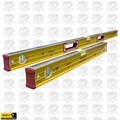 Stabila 38008 4' + 2' Magnetic Box Level Set 1ea 38648 & 38624 #96M