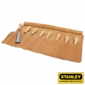 Stanley 16-793 8 Piece Sweetheart Socket Chisel Set + Leather Pouch