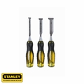 Stanley 16-970 3 pc Wood Chisel Set