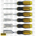 Stanley 16-971 6 pc 900 Series FatMax Short Blade Chisel Set