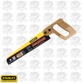 "Stanley 20-221 10"" SharpTooth Fine Finish Mini Utility Saw"