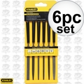 "Stanley 22-316 6pc Precision 5-1/2"" Hobby File Set"