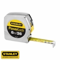 "Stanley 33-428 1"" x 26 ft/8m Inch/Metric Powerlock Tape Measure"