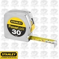 "Stanley 33-430 1"" x 30 ft PowerLock Tape Measure"