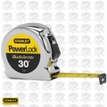 Stanley 33-530 1x 30' Powerlock Tape Measure