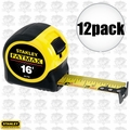 "Stanley 33-716 12pk 16"" FatMax Tape Measure"