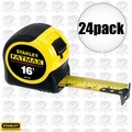 "Stanley 33-716 24pk 16"" FatMax Tape Measure"
