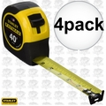Stanley 33-740 4pk 40' FatMax Tape Rule