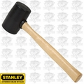 Stanley 57-522 Hickory Handle Rubber Mallet