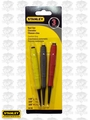 Stanley 58-930 3 pc Contractor's Cushion Grip Nail Set