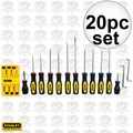 Stanley 60-220 20 Piece Screwdriver Set