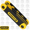 Stanley 90-391 SAE & Metric Folding Hex Wrench Set