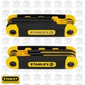 Stanley STHT71839 SAE & Metric Folding Hex Wrench Set