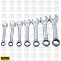 Stanley STMT72255 7pc Stubby Metric Combination Wrench Set
