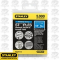 "Stanley TRA704-5C 1/4"" Heavy Duty Narrow Crown Staples"